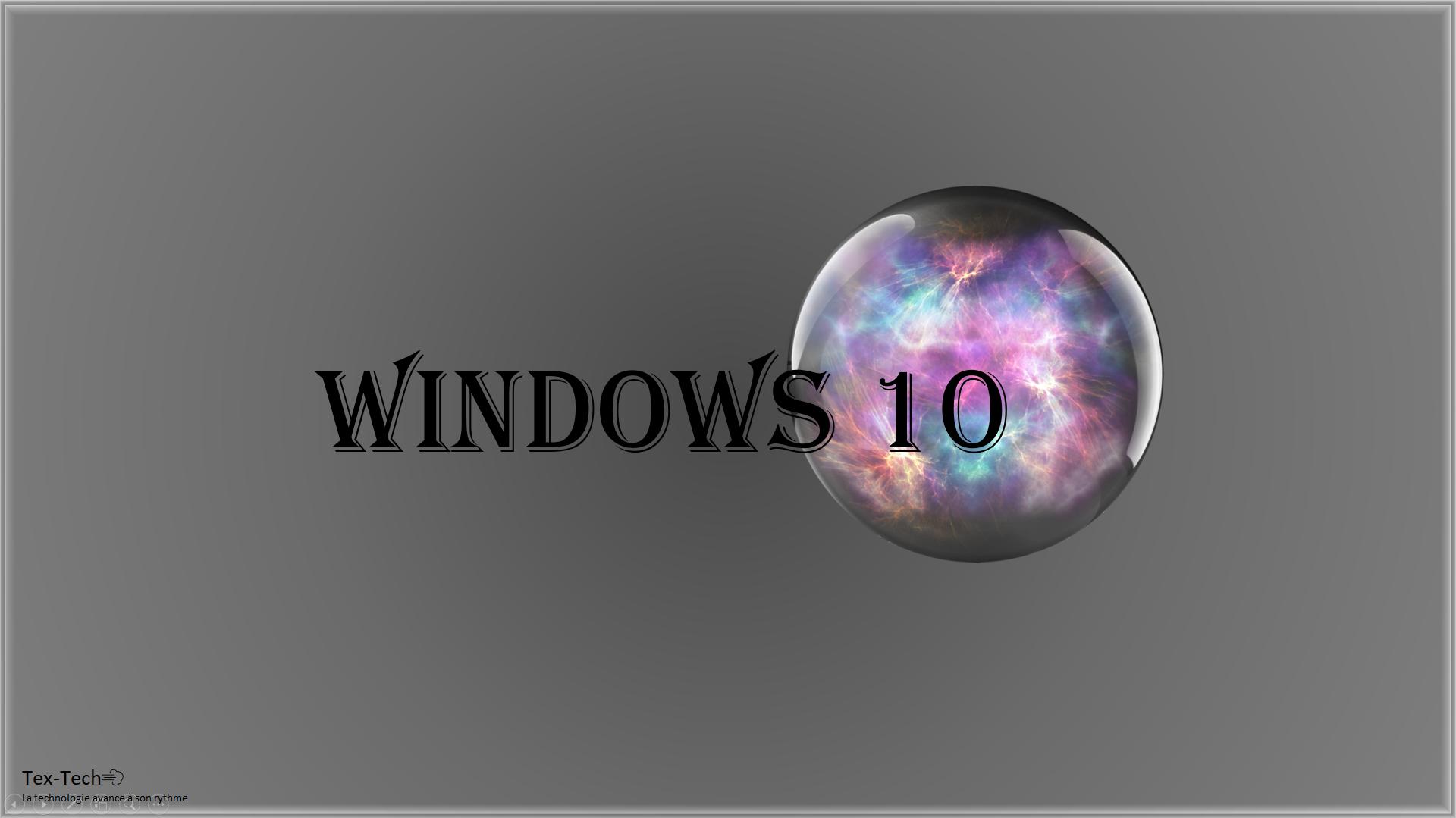Fond d'écran Windows 10 n°1